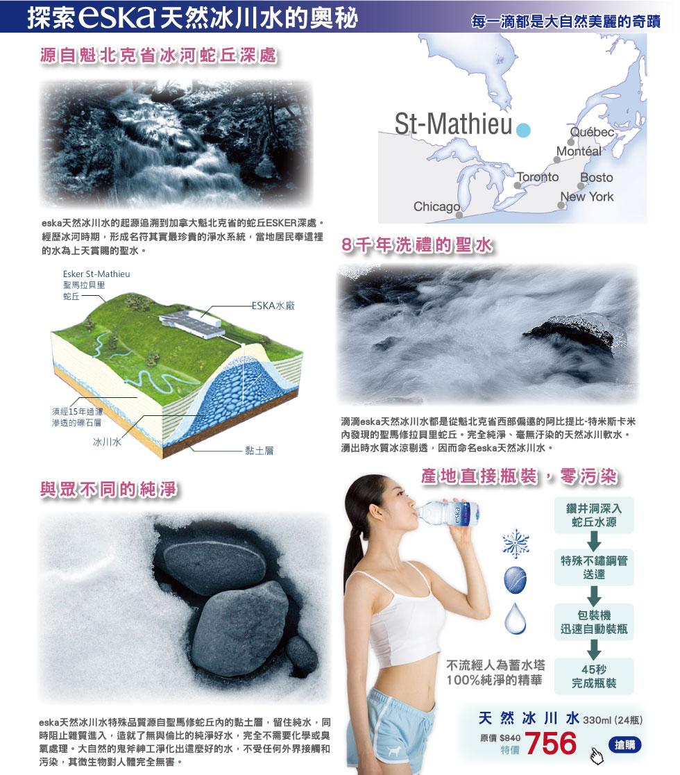 探索eska天然冰川水的奧秘